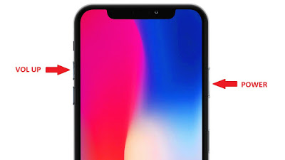 How to Take Screenshot on iPhone X SERIES