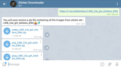Download Telegram Sticker on Android, iOS, Windows, macOS, Linux