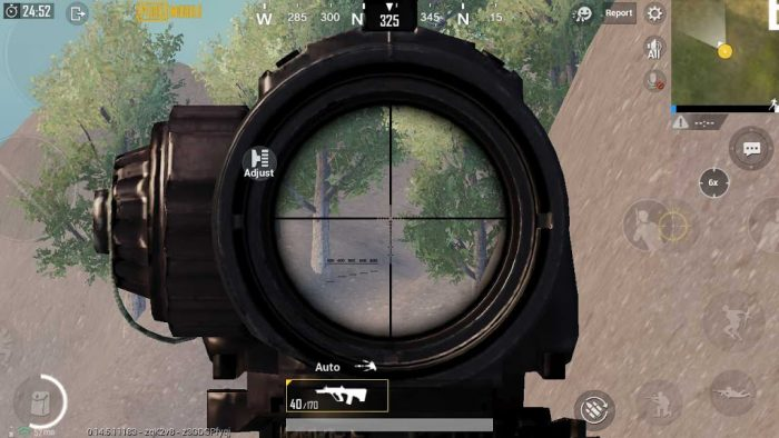 Config PUBG Mobile Smooth Extreme 60 FPS 1080p AA Off
