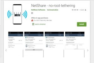 how to use netshare wifi tether