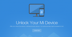 how to unlock bootloader xiaomi all types