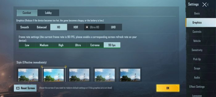 (UPDATE) Config Unlock All Graphic PUBG Mobile v1.3.0 (Extreme, HDR, UHD, 90 FPS)
